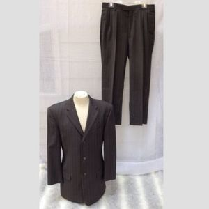 Unlisted by Kenneth Cole gray pinstripe suit